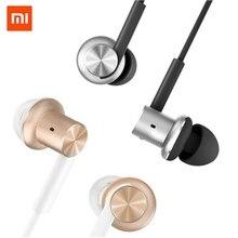 New Original Xiaomi Hybrid Earphone Mi In Ear Circle Iron Wired Control Piston Dual Driver HiFi