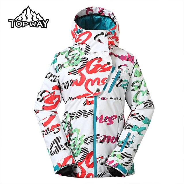 0e5aa247c4 New Waterproof Winter Windproof Jaqueta Feminina Anti-Wear Snowboard Snow  Skirt Design Ski Jacket Women Outdoor Sport Coat
