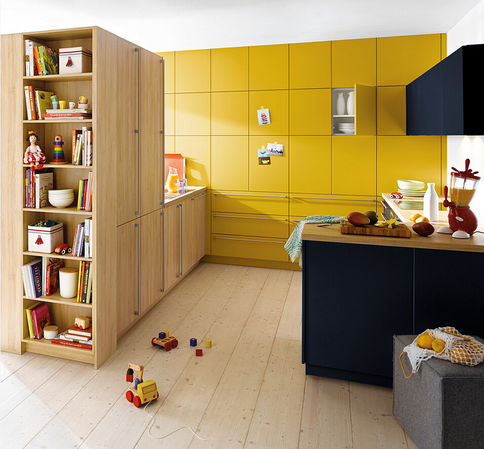 Us 2400 0 2017 New Design Kitchen Cabinets Orange Color Modern High Gloss Lacquer Kitchen Furnitures L1606052 In Kitchen Cabinet Parts Accessories