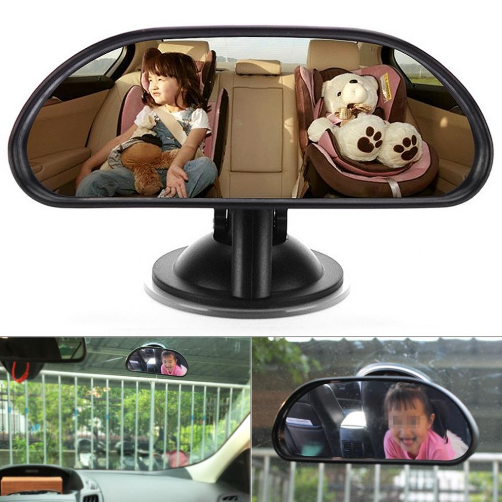 Middle Car Rearview  Mirror Safety Easy View Baby Viewer Inside with Sucker for Cars