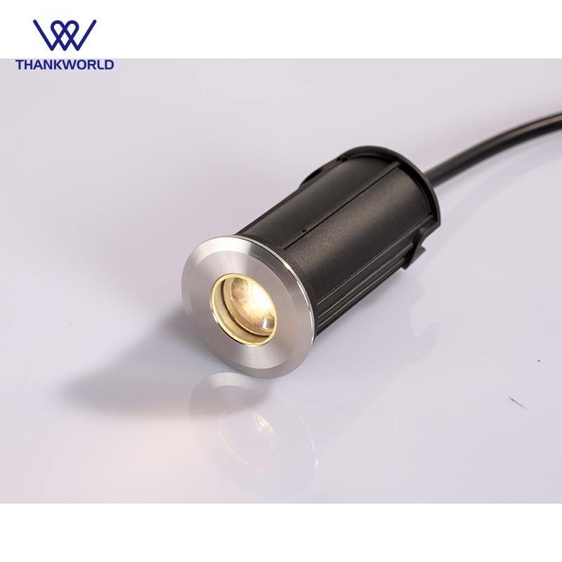 VW Luminaire membawa lampu bawah tanah 1W Lampu luar keluli tahan - Pencahayaan luar