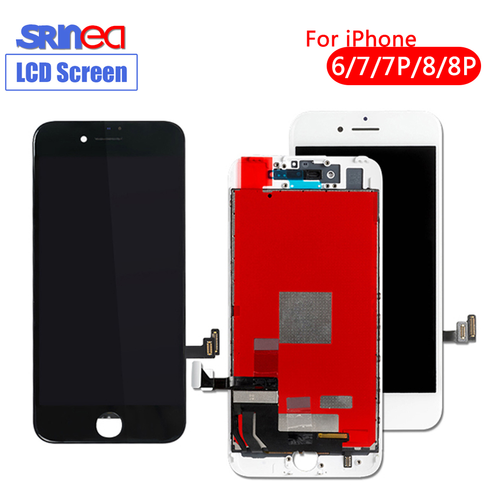 AAA+++ Screen For Iphone 7 7plus 8 8plus 6 OEM Display 3D Touch Screen Digitizer Assembly For Iphone 7 8 Plus LCD 100% Test
