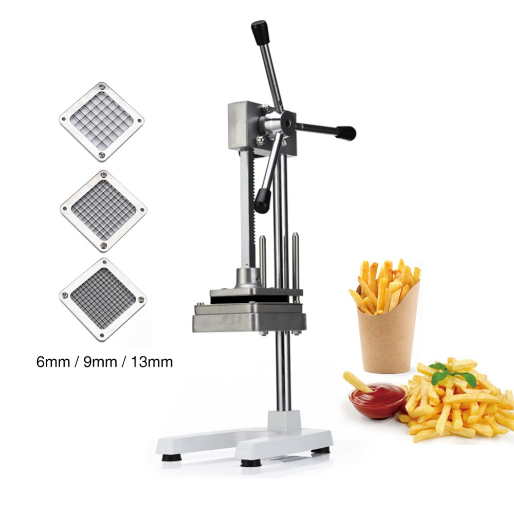 Manual Cut French Fries Machine Potato Cutter Chips Blades Fruit And Vegetable Making Machine Cutting Machine Vegetable Cutter