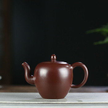 clay pot genuine famous artists pure hand-made raw ore purple clay Lingmei shoulder pot Kungfu teapot household teapot