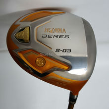 Golf clubs HONMA S-03 4 Star Gold color driver 9.5or10.5 loft Graphite shaft R or S flex Clubs Free shipping