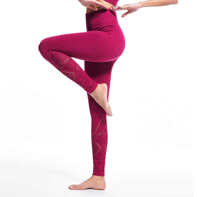 Женские компрессионные брюки с высокой талией, Леггинсы для йоги, фитнеса, Капри, защита от приседания, Интерлинк, хлопок, power Fle, леггинсы