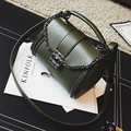 Mais novo lockbutton cadeia mini bolsa de moda de todos os jogo pequeno saco das mulheres do vintage saco do mensageiro do ombro h-598