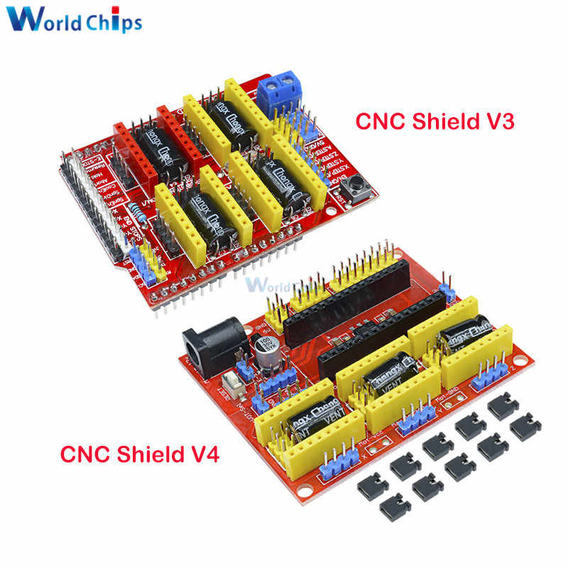 CNC Shield V4 shield v3 V2 Machine de gravure/imprimante 3D/A4988 carte d'extension de pilote pour arduino CNC Shield V2/V3/V4 kit de bricolage
