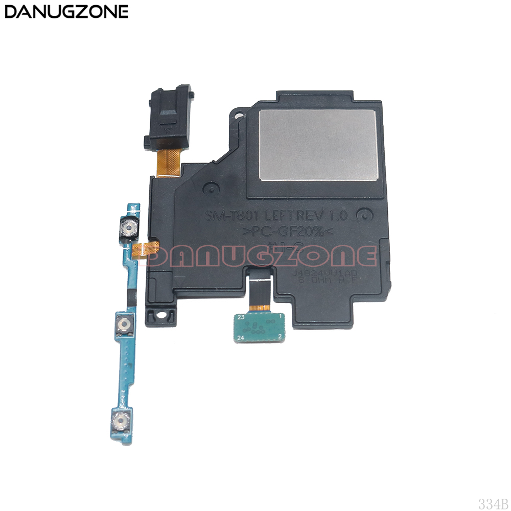 Power Button Switch Volume Button On / Off Ringer Buzzer Loud Speaker Headphone Audio Jack Flex Cable For Samsung T800 T801 T805