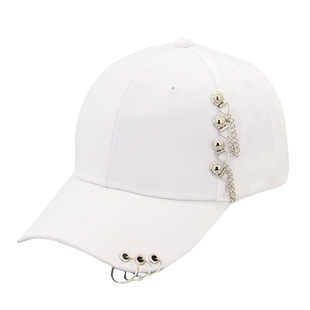 Unisex Snapback Baseball Cap Women Casual Solid Adjustable Iron Ring Baseball Caps Snapback Cap Casquette Gorra Hombre
