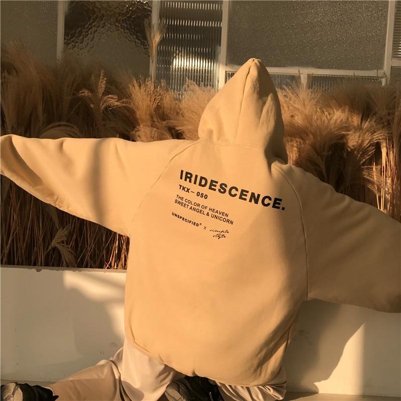 HTB1HCQfMzDpK1RjSZFrq6y78VXae Hoodies Women Thicker Plus Velvet Warm Soft Letter Printed Simple All-match Pockets Leisure Pullovers Womens Trendy Sweatshirts