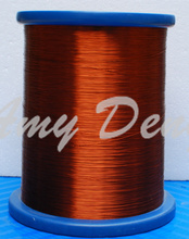 500 meters/lot  0.23 mm polyester enamelled round copper wire, copper QZ-2-130