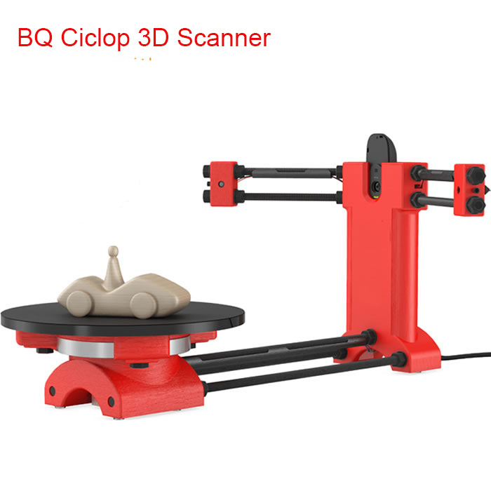DIY BQ Ciclop 3d scanner kit(without printed parts) for 3d printer Reprap 3d Open source designer and engineering