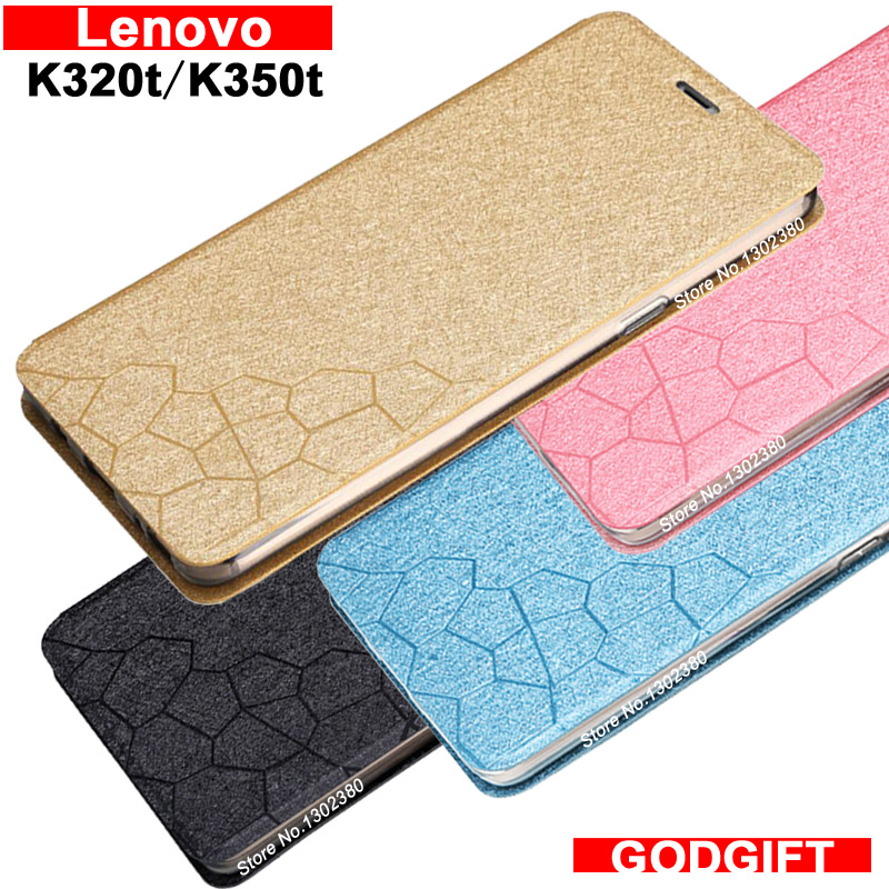 Lenovo K320t case cover leather Water cube case for Lenovo K350t case cover 4 style Lenovo K 320t K 350t case