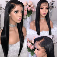 Brazilian Straight Lace Front Human Hair Wigs Remy Hair Wigs For Black Women Lace Frontal Wigs With Baby Hair Modern Show Hair