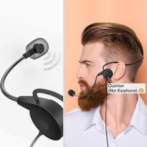 Image 4 - FIFINE Wireless Lavalier Microphone for PC Mac with USB Receiver Free Your Hands for Interview Recording Speech Podcast  031B