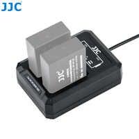 JJC USB Caricatore Doppio Della Batteria per Fuji Fujifilm NP-W126 NP-W126S XT3 X100F X-Pro2 X-Pro1 XT2 XT1 XT30 XT20 XT10 Sostituisce BC-W126