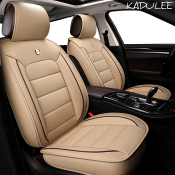 KADULEE pu leather car seat cover for dodge journey challenger ram 1500 caliber nitro auto accessories car-styling car seats