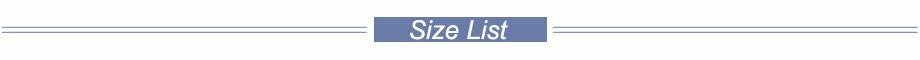 size-list