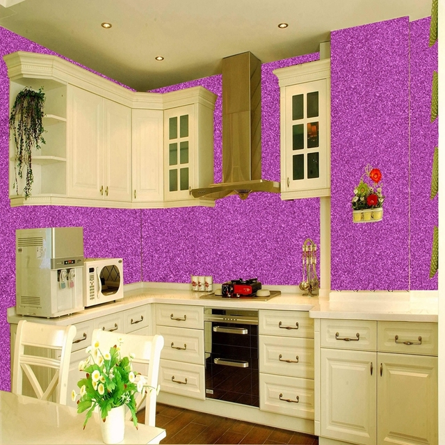 11M One Roll 138CM Width China Wallpaper Manufacturer High Grade Glitter  Wall Paper For Kitchen Decoration 216f8fd88bb2