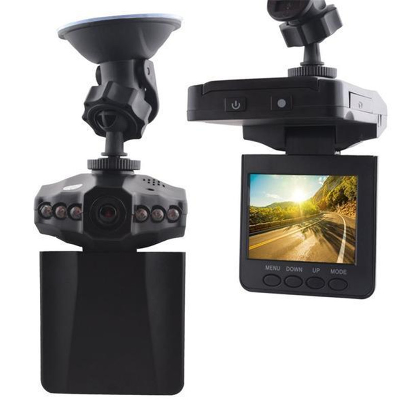 Mintiml Recorder ( 1 Set ) H198 Car DVR 2.5 Inch 270 Degree Rotated Screen, 6 IR LED Vehicle Cycle Recording Dash Car Camcorder mintiml recorder