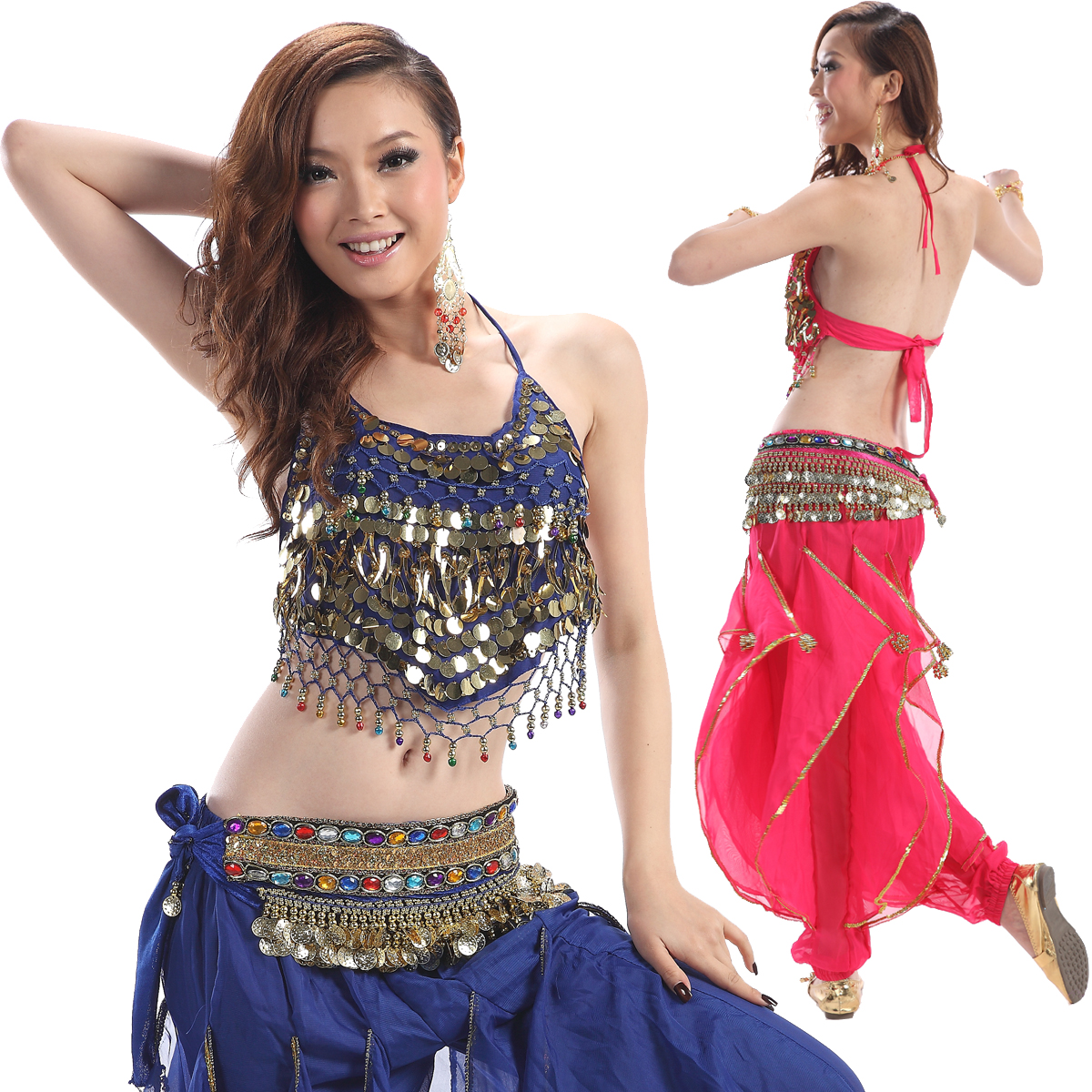 faa366c17 Belly dance costume set male indian dance girls table costume plus size