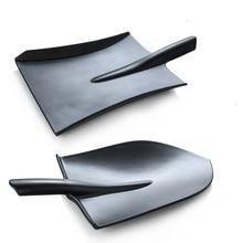 Tableware Plate Design European Style Frosted Imitation Porcelain shovels Tableware Plate Dish Platter Bowl Cutter Dinnerware