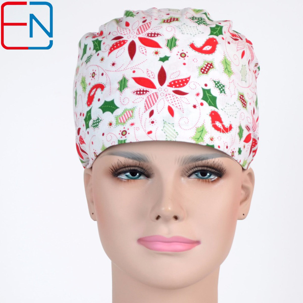 Hennar WOMEN Surgical Caps IN Purple SURGICAL SCRUB CAPS
