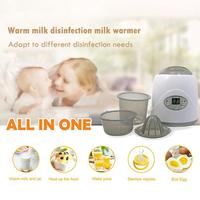 Multi function Baby Disinfection Milk Sterilizers Warmer Heater Constant Temperature Baby Feeding Bottle Food Heater Boil Eggs