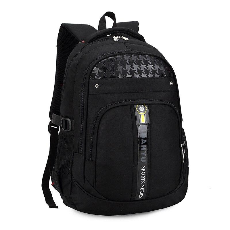 Студенты моды путешествовать Рюкзаки Школьные ранцы waterpfoof рюкзак школьный Дети Книга сумка для Обувь для мальчиков Для мужчин рюкзак для н...