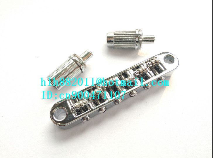 new LP electric guitar TUNE O Matic Roller Saddle bridge in chrome made in South Korea LH 01