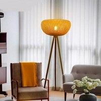 Юго Восточной Азии бамбука, торшеры снимает творческий современный китайский стиль ретро гостиная книга освещение балкон стандарт a73126