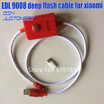 Free adapter+deep flash cable for Xiaomi Redmi phone Open port 9008 Supports all BL locks EDL cable