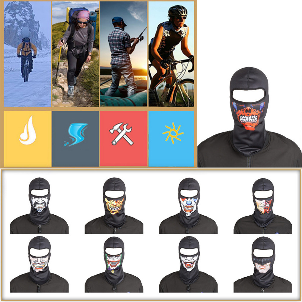 2019 fashion man and woman Bicycle outdoor sports masks out riding sports headscarf mountaineering skiing warm mask 40M20 (1)