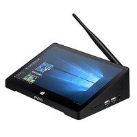 Nueva PIPO X9S Mini PC Intel Cereza Trail Z8350 Windows 10 y Android 4.4 OS Dual Smart TV CAJA 2G/32G Quad Core CPU HDMI equipo