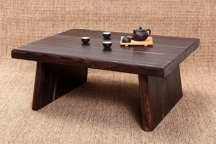 Japanese Antique Table Rectangle 80*70cm Paulownia Wood Asian Traditional  Furniture Living Room Low Floor Table For Dining In Coffee Tables From  Furniture ...