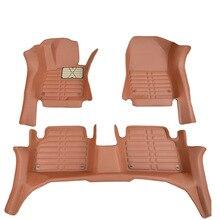 Myfmat custom foot leather car floor mats for Cadillac CTS CT6 SRX Escalade SLS seville luxury sedan ATSL XT5 ATS PLUG-IN