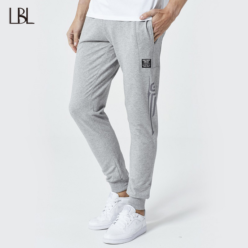 Mens Casual Pants Streetwear Sweatpants Men Hip Hop Joggers Bodybuilding Fitness Long Trousers Mans Sportswear Brand Clothing