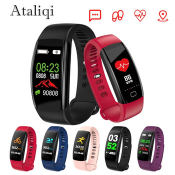 Ataliqi F64HR สมาร์ทนาฬิกา IP68 กันน้ำความดันโลหิตออกซิเจน Fitness tracker สร้อยข้อมือสมาร์ท Heart Rate Tracker สายรัดข้อมื...