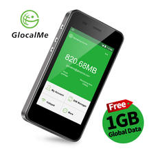Glocalme 4G Router Kostenloser Roaming Weltweit Mobile WiFi Hotspot Power Auto Router Dual Sim Slot Neue 2018