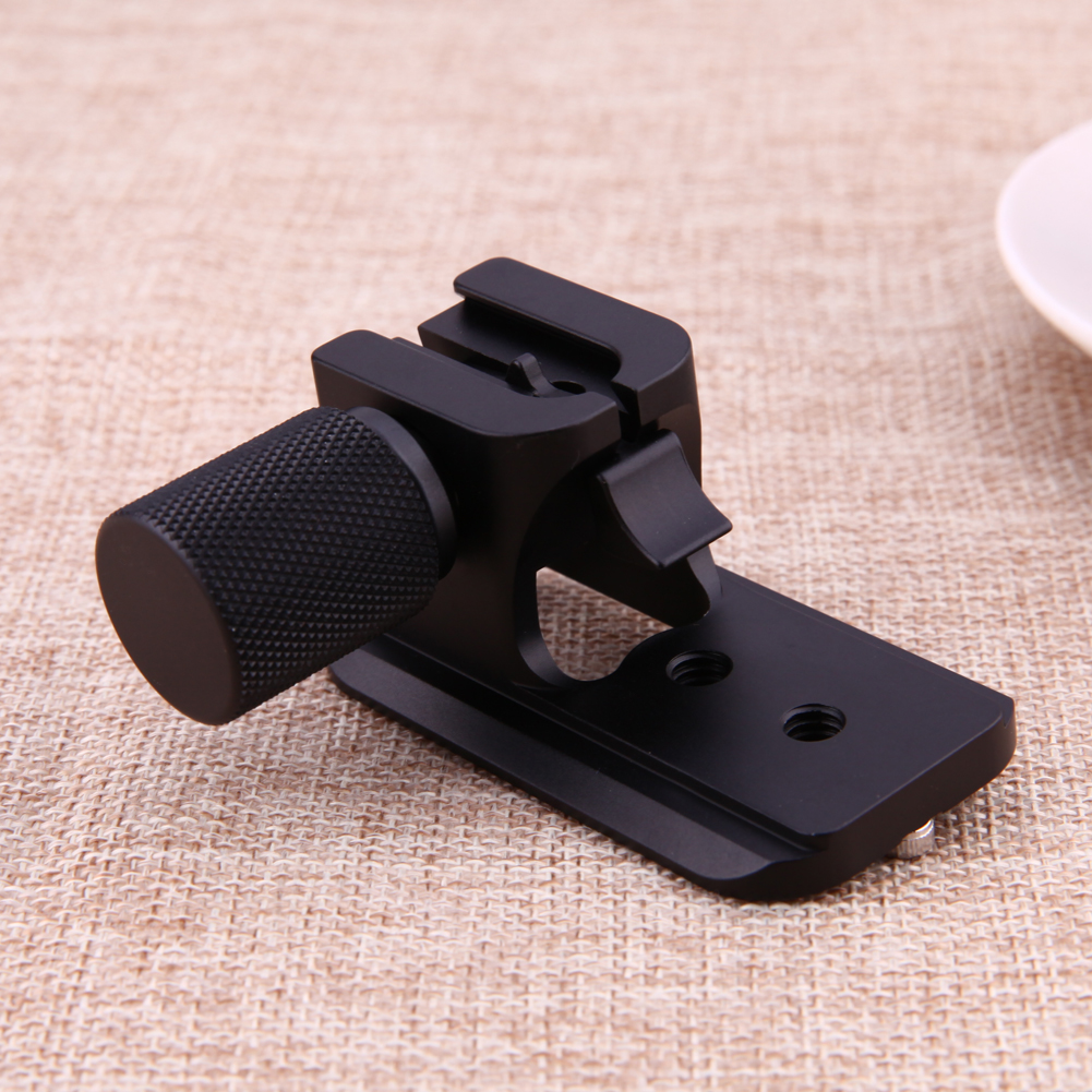 Two 1/4 Mounting Holes 38mm / 1.5in Foot Width Camera Lens Quick Release Plate Base for Nikon 70-200mm f/2.8 VR VRII Lens Plate