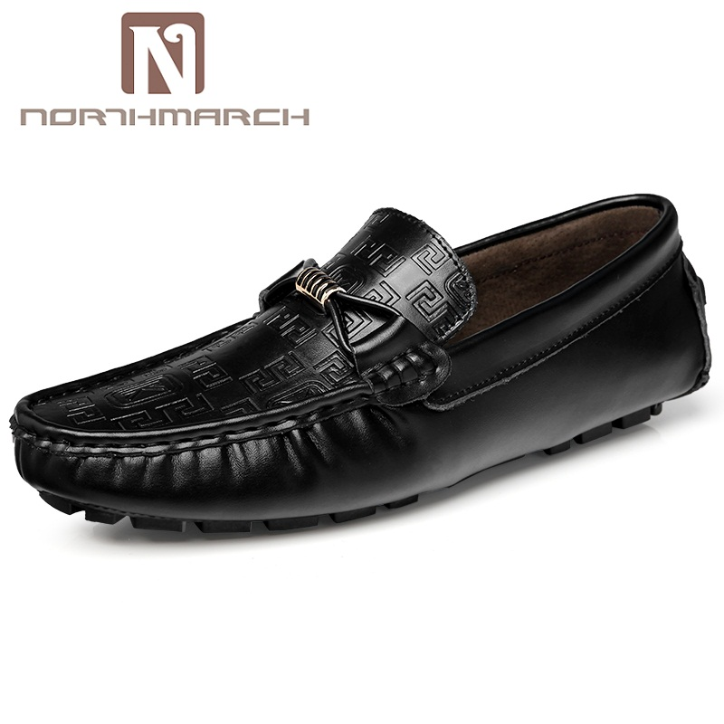 NORTHMARCH Hot Sale Men Causal Shoes Slip On Classic Zapatos Footwear Men Breathable Leather Shoes Men Sapato Masculino Couro
