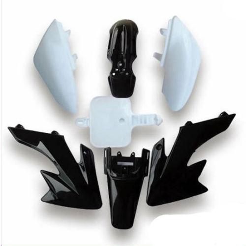 Пригодный для Honda CRF50 XR50 ССР ОПРФ ХС 50 ЦУР про 50куб воздух 110cc 125cc грязи велосипед ямы велосипед мотоцикл пластиковый обвес бамперов черный
