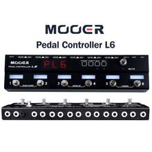Mooer PCL6 Pedaal Controller Programmeerbare Loopswitcher Met 6 Loops L6 PL6 Met Gratis Connector