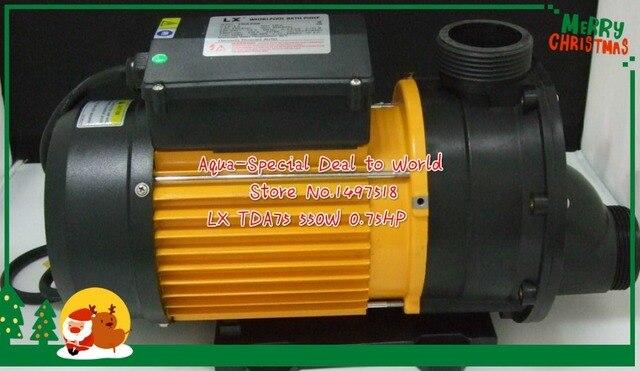 LX TDA75 SPA Hot Tub Whirlpool Pump TDA 75 Hot Tub Spa Circulation Pump U0026  Bathtub