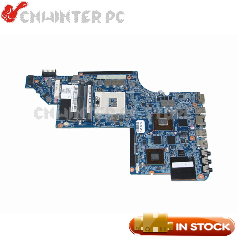 NOKOTION 665991-001 Main Board For HP Pavilion DV7-6000 Laptop Motherboard HM65 DDR3 HD6770M Video card nokotion 665991 001 665990 001 for hp pavilion dv7 dv7 6000 laptop motherboard hm65 ddr3 hd 6770m 1gb graphics memory