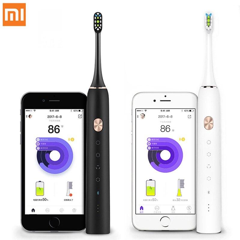 Xiao mi mi jia Zahnbürste Soocare X3 Soocas Verbesserte Elektrische Sonic Intelligente Saubere Bluetooth Wasserdichte Drahtlose Lade mi Hause APP
