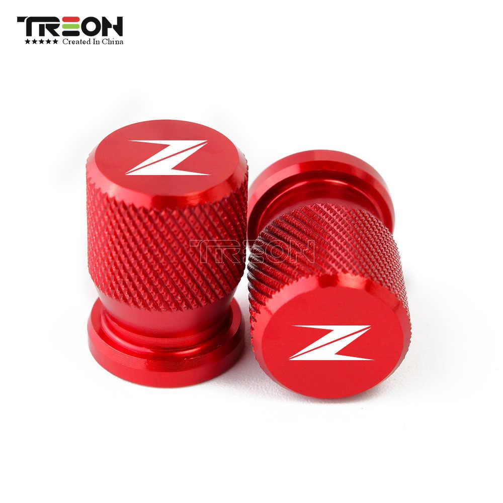 Accessoires de moto bouchons de tige de Valve de pneu de roue CNC couvercles étanches en aluminium pour KAWASAKI Z900 Z1000 2013-2017 Logo Z