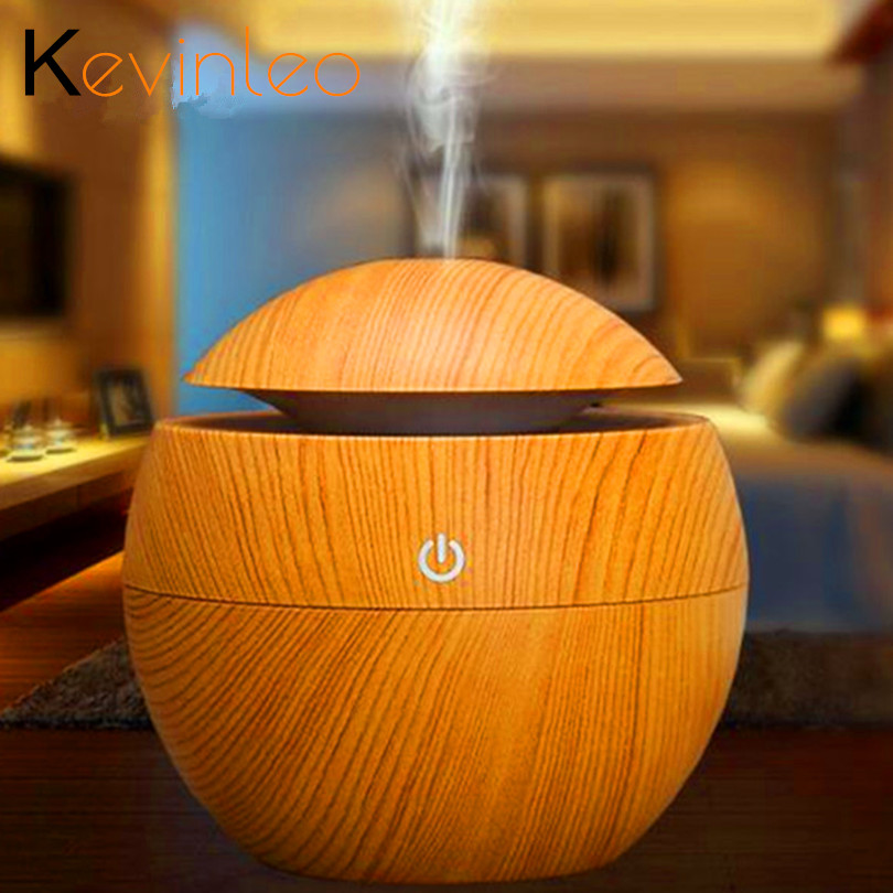 Essential Oil Diffuser Aroma Humidifier USB Power Lamp Touch Mist Discharge Aromatherapy Air Purifier Mist Maker For Household