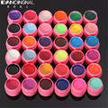 Pro 36Pcs/Sert Solid Pure Mix Colors Solid Pure UV Builder Gel Acrylic Set Nail Art Tips For DIY Manicure Solon Design Tools